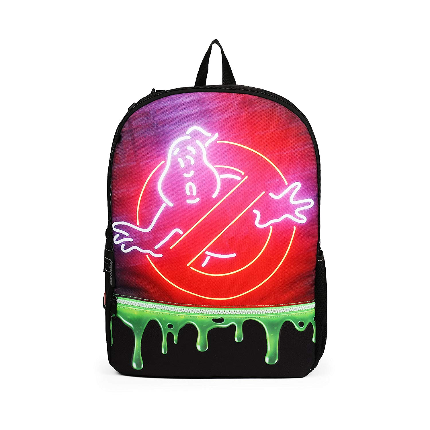 bdd4f72055 Get Quotations · Mojo Ghostbusters Slime Fashion Green 16 Inch Backpack