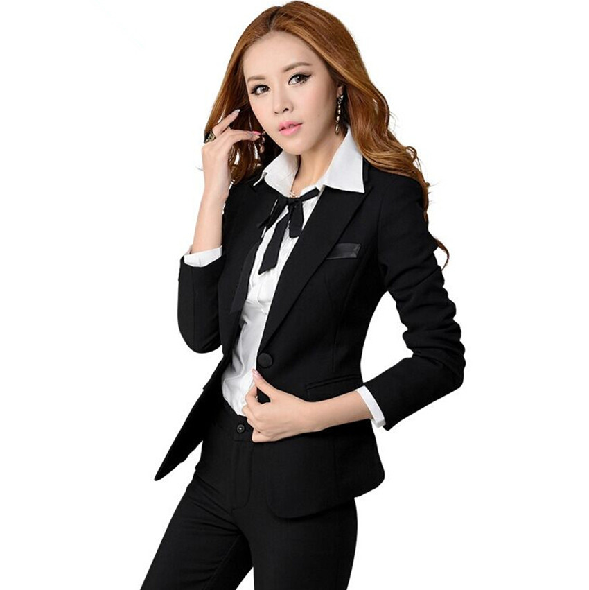63e79ddf8c3 Get Quotations · 2015 Fashion OL work wear skirt suit for women formal  blazer with skirt sets office business
