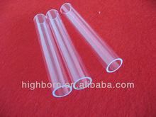 high accurate UV stop quartz glass tube fire polishing