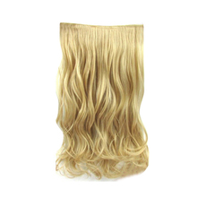 full head lace weft easy wear synthetic flip in hair