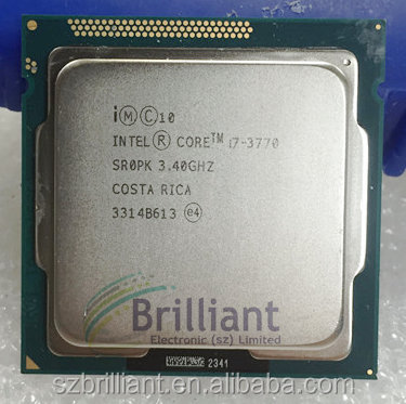 for Intel Core i7-3770 I7 3770 Processor cpu LGA 1155 properly Desktop Processor
