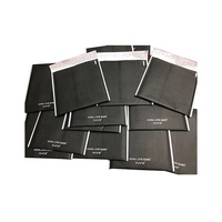 "black matte #0 6x10 6""x10"" custom sizes kraft paper padded bubble Wrap Lined Mailers envelope bag"