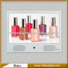2012 new design pop lcd display for shopping mall buses