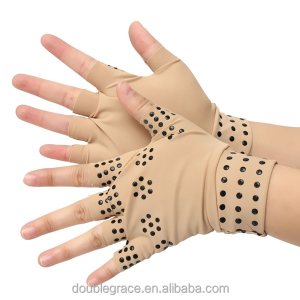 hot selling Compression Arthritis Supports Joints Heal Therapy pain relief Magnetic Gloves