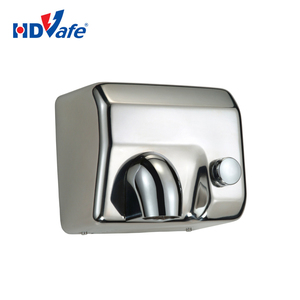 New Wall Mounted Jet Air Auto Factory Stainless Steel Hand Dryer