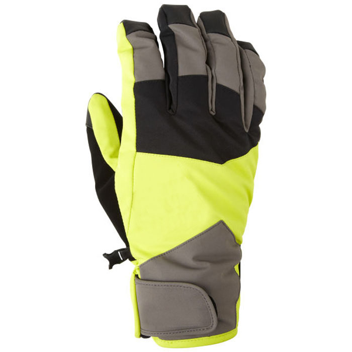 Men's Reinforced Gripper Ski Gloves Fashion Dynamical Styles