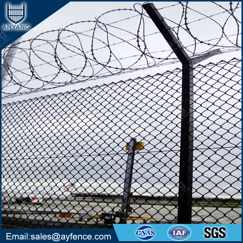 Anping Best Price Cyclone Wire Fence for Residential District Australia