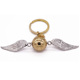 Harry Porter Flying Wing Shaped Golden Snitch Metal Keychain Manufacturers In China