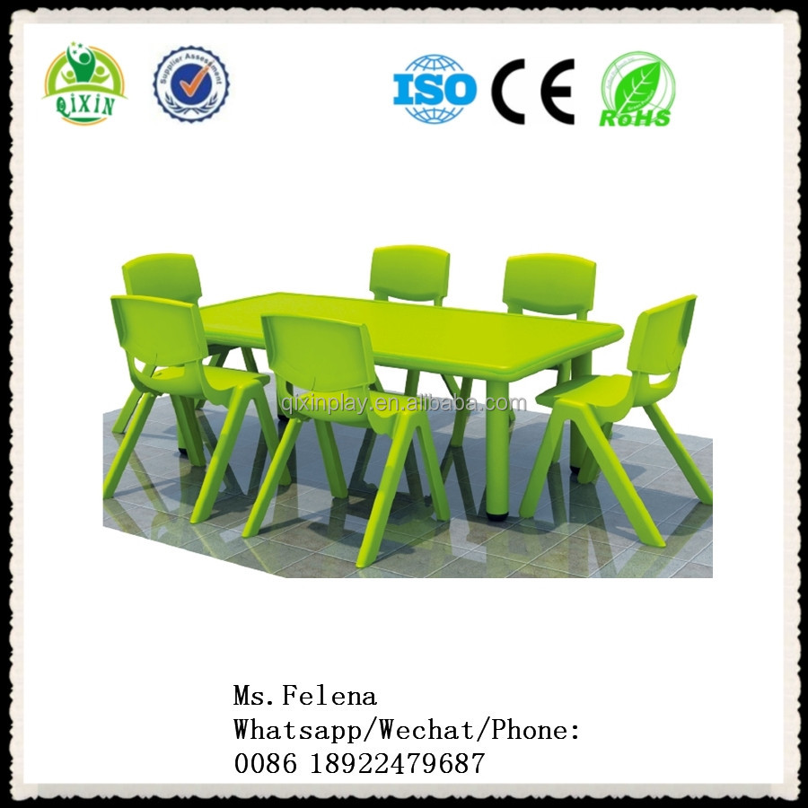 2020 Hot Factory wholesale plastic kids table and chairs kindergarten preschool daycare nursery school children furniture sets