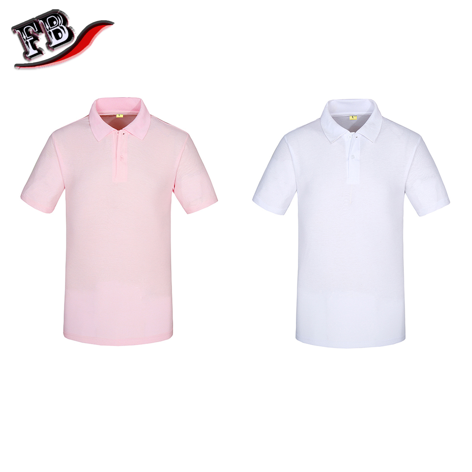 HuiYi Comfortably Collared Mens Perfect Slim Fit Short Sleeve Soft Fitted Polo Shirt