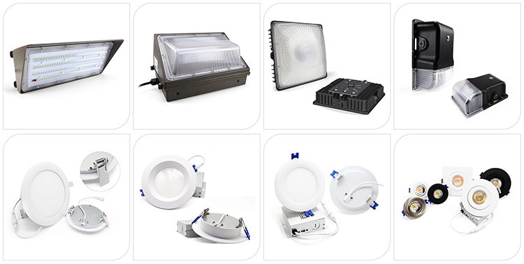 10W 20W 30W IP65 LED Wall Pack Lamp For Porch Doorway Garage Parking Outdoor Lighting