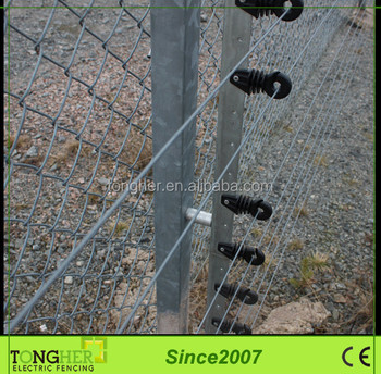 Diy Security High Voltage Electric Fence Protection Angle Iron Insulator Buy Angle Iron Insulator Electric Fence Diy Electric Fence Product On