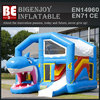 Hot cheap new inflatable shark tank slide fashion design for sale