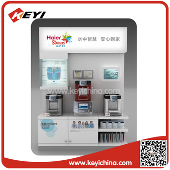 Floor Standing Spray Paint Electronic Appliance Display For ...