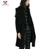 2015 Clothes For Women Winter Coat Fashion Long Sleeve Waist Cape Fur Cardigan Woolen Maxi Dress Parka Jacket rtw Whoelsale