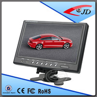 Vehicle 9inches Standalone 12 volt dc lcd monitor With BNC Connector