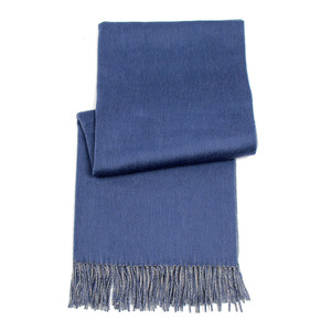 Mongolia origin factory supply solid color winter cashmere wool scarf