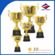 Gold Award Sports Champion Metal Trophy Cups
