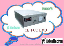 100~120VAC output or 200~240VAC output with warranty 5000W inverter