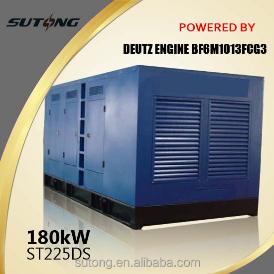 Prices with DEUTZ high performance 100kva silent diesel generator
