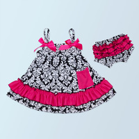 Factory Directly hand embroidered baby dress high quality