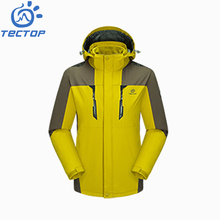 2017 TECTOP Full Pressure Seal Waterproof Men Outdoor Jacket for Cycling