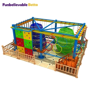 Attractions Playground Equipment Rope Course Adventure franchise in china