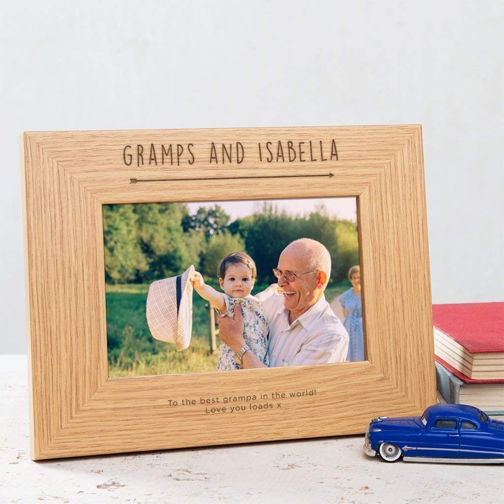 Get Quotations · Personalized Grandad Photo Frame - Best Grandad Gifts/Grandad Gift Ideas/Grandad Personalized Gifts