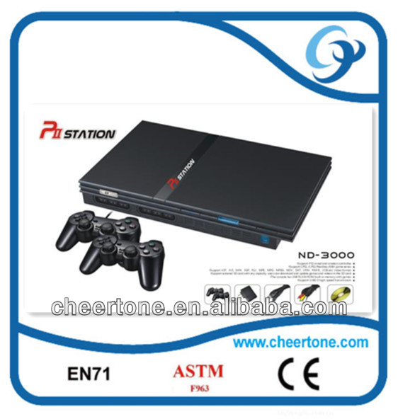 fashion design 32 bit TV game station popular play station 2 joystickers