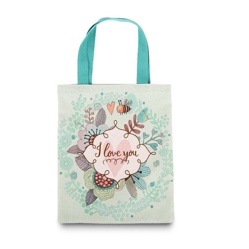 Full color custom printed tote bags for <strong>promotion</strong>