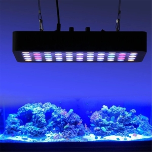 China supplier hot sale WiFi 165w dimmable app Control LED Aquarium Light Full Spectrum Coral Reef Marine for fish tank