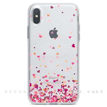 Multifunctional UV printing green phone case clear women professional mobile phone case for apple iphones 8