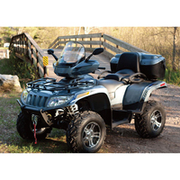 Roto mold ATV cargo box