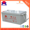 2016 hot sales solar gel deep cycle battery 12v 200ah for UPS