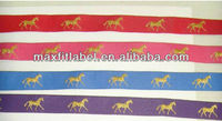 Wholesale Custom Embroidered Metallic Woven Colorful Jacquard Ribbon Manufacturer