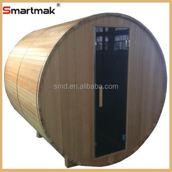 Hochwertige Luxus Traditionellen Holz Sauna Fass Haus