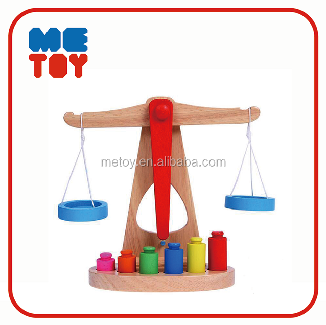 ASTM Balance game montessori educational toys wooden