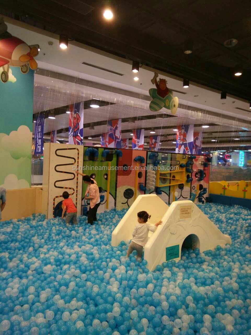 Indoor Preschool Playground Equipment From Sunshine Ocean Ball Games ...