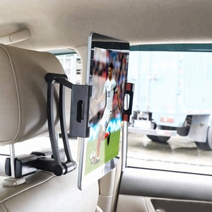 In Car Back Sear Headrest Tablet Mount Holder Flexible Stand for iPad for Kindle Fire eBook