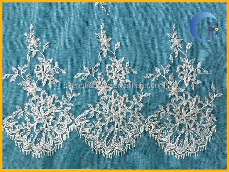 Hiway china supplier embroidery designs with stone work