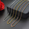 XL004 Customized Jewelry Stainless Steel Gold Necklace Chain, Fashionable Clavicle Necklaces For Women