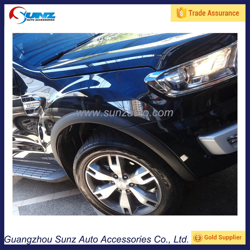 2016 for ford everest mud guards flare trims for ford everest 2016 on fender flare front endeavour new suv car sunz accessory buy for ford everest