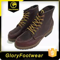 good qulitity genuine leather mens Martin boots
