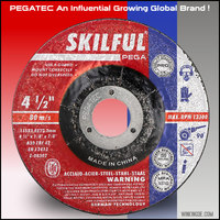 "Depressed centre 80m/s 4.5"" 115x3x22mm cutting grinding wheels"