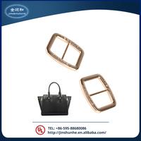China manufacturer zinc alloy metal bag buckle with long-term service