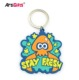 Keychain Maker Wholesale Personalised Custom Logo Soft Pvc Plastic Keyring