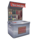 Hot Selling Kids Foldable Storage with Lid Stand Toy Storage Box