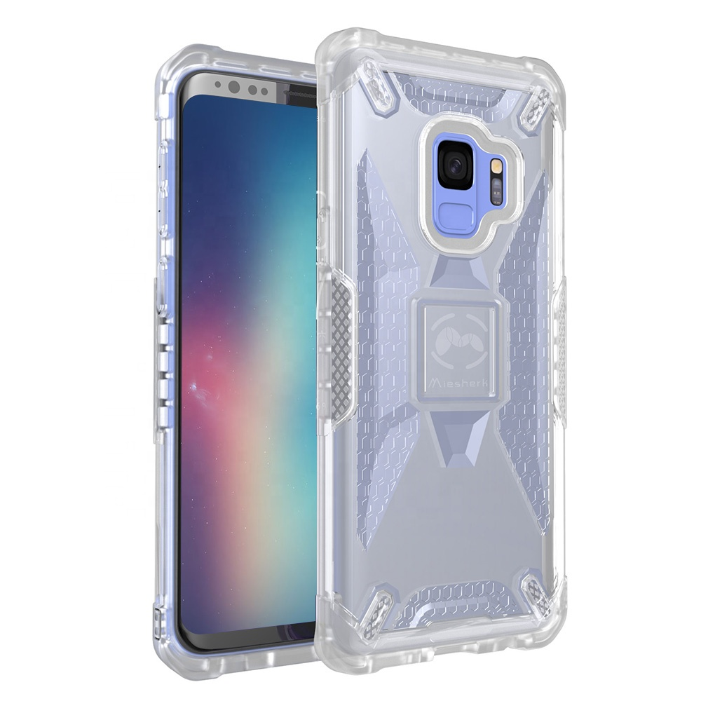 Hybrid bumper shockproof mobile cover cell phone case for Samsung Galaxy S9 фото