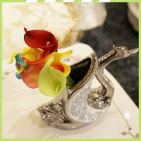 2017 Newest economic valentinies day artificial calla lily stems