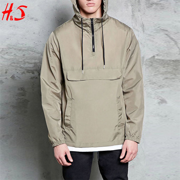 New Arrival Handsome Hooded Zip-front Pullover Jackets Men Anorak ...